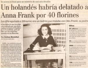 ANA FRANK LA NACION